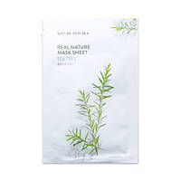 Увлажняющая тканевая маска Nature Republic Real Nature Mask Sheet - Tea Tree