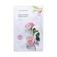 Увлажняющая тканевая маска Nature Republic Real Nature Mask Sheet - Rose