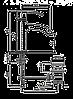 Смеситель для умывальника EMMEVI NIAGARA BIO74003 белый, фото 2