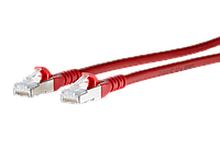 1308451066-E Patch cord Cat.6A AWG 26 1.0 m red