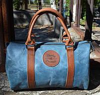 Кожаный саквояж ручной работы Laguna, Sharky Friends, фото 1