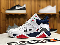 Женские кроссовки Fila Spaghetti High White/Blue/Red