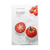 Увлажняющая тканевая маска Nature Republic Real Nature Mask Sheet - Tomato