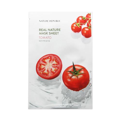 Зволожуюча тканинна маска Nature Republic Real Nature Mask Sheet - Tomato