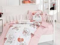 Постельное белье детское First Choice бамбук Baby bear pudra (kod 3246)
