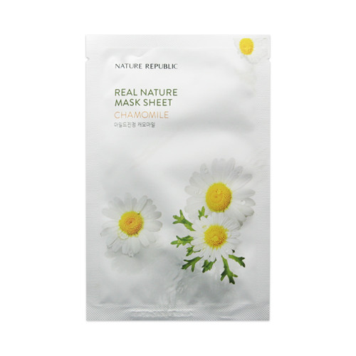 Увлажняющая тканевая маска Nature Republic Real Nature Mask Sheet - Chamomile