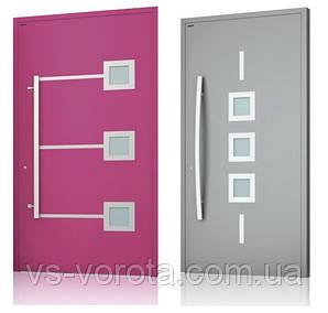 Двери алюминиевые входные WISNIOWSKI модель CREO 338 - размер 1200Х2300 мм