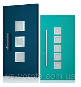 Двери алюминиевые входные WISNIOWSKI модель CREO 336 - размер 1200Х2300 мм