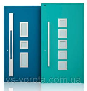 Двери алюминиевые входные WISNIOWSKI модель CREO 337 - размер 1200Х2300 мм