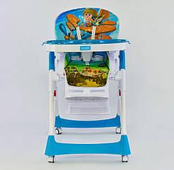Стільчик для годування JOY J 7600 Блакитний 72441