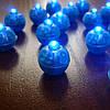 """Светодиод для шариков синий """"сфера"""""""