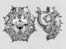 Сережки срібні s0080