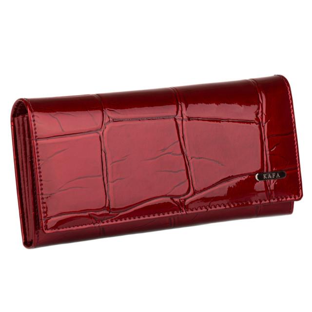 кошелек женский красный лаковый