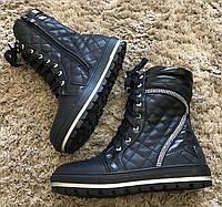 Детские демисезонные ботинки для девочек размеры 32,34,36,37