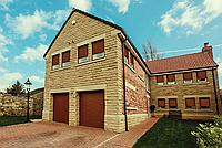 Ворота гаражные роллетные Alutech, 3500х2500, профиль AG/77 с встроенным монтажом, фото 1