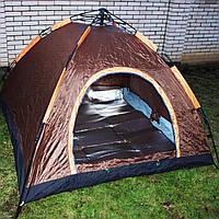 Палатка автоматическая 2.10×2.10×1.45 м. + каремат, фото 1