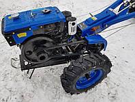 Мотоблок Дизельный Зубр JR-Q78 NEW (Фреза) ручной стартер