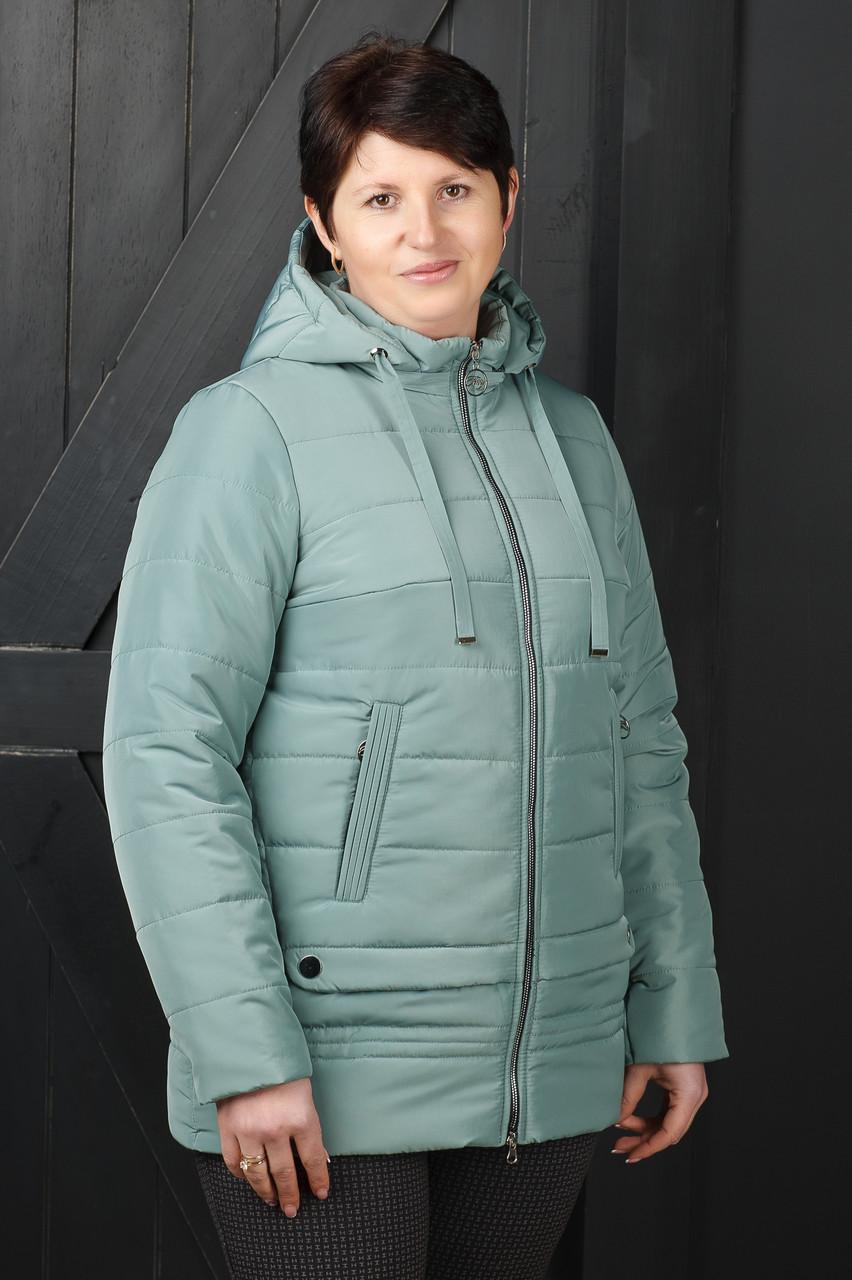 Куртка Мирта цвет фисташка