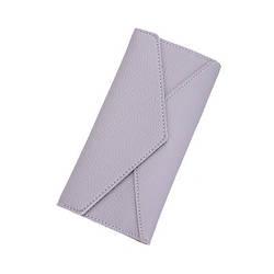 Женский кошелек серый