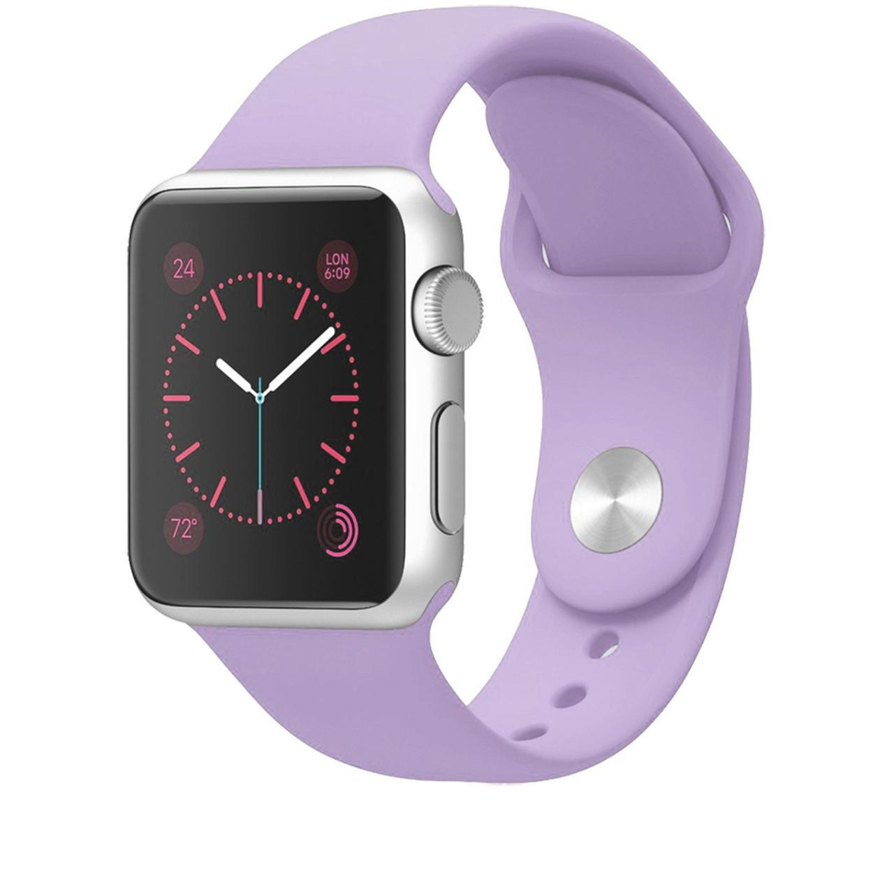 """Ремешок для Apple Watch 38/40 mm """"сирень"""" №45"""