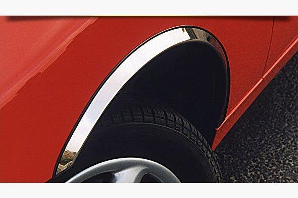 Накладки на арки (4 шт, нерж) Opel Zafira C Tourer 2011↗ гг.