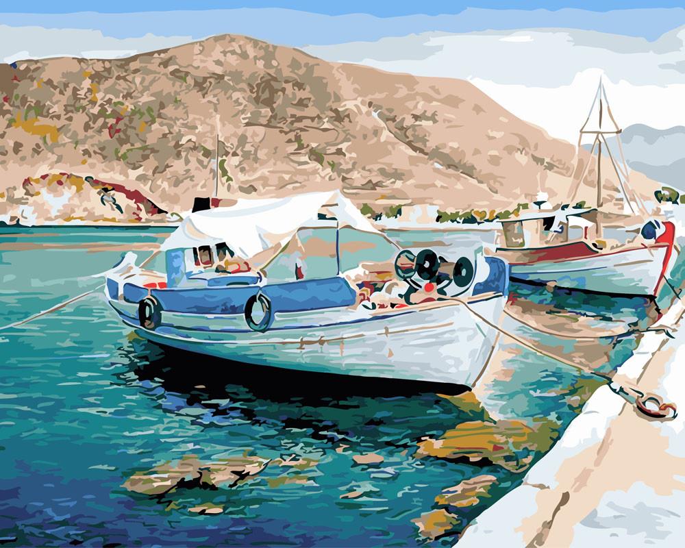 Картина по номерам У берегов Хорватии, 40x50 см., Rainbow art