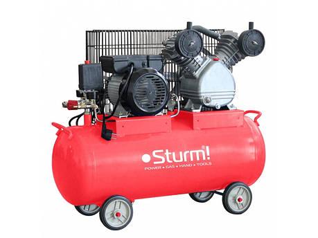 Воздушный компрессор Sturm AC9365-50 (ременной, 2200Вт, 50 л.), фото 2