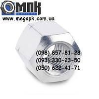 Гайки нержавеющие М8 DIN 6330 шестигранные высокие, сталь А2, А4.