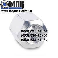 Гайки нержавеющие М10 DIN 6330 шестигранные высокие, сталь А2, А4.