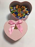 Жевательная жвачка Love is, жвачки лове ис ассорти в подарочной упаковке 70 шт розовая коробочка