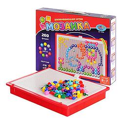 Детская настольная игра развивающая.Пальчиковый конструктор.