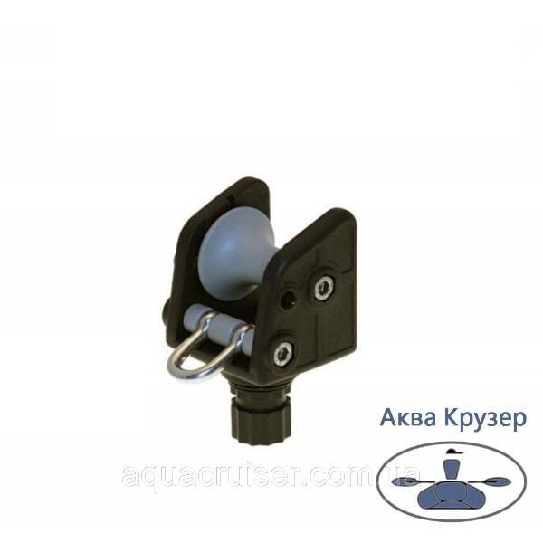 Роликовый узел для якоря - Ar002 FASTen Borika для лодки, цвет черный