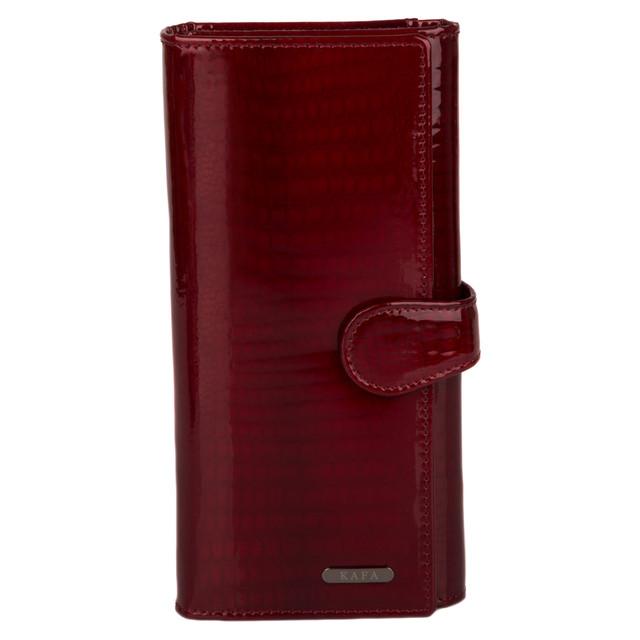 b2ba034f4a06 красный кожаный кошелек кошелек женский красный кошелек большой красный kafa