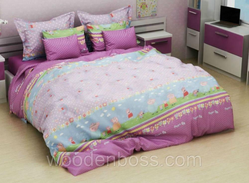 """Комплект постельного белья """"Дружба, розовый"""", бязь"""