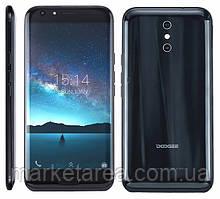 Смартфон дуги черный с большим дисплеем и хорошей большой батареей на 2 сим карты Doogee BL5000 black 4/64ГБ
