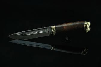 """Нож ручной работы """"Viking-3"""", дамасск, фото 2"""