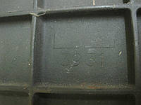 Задняя стенка Godin из чугуна для камина