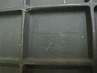 Задняя стенка Godin из чугуна для камина, фото 1
