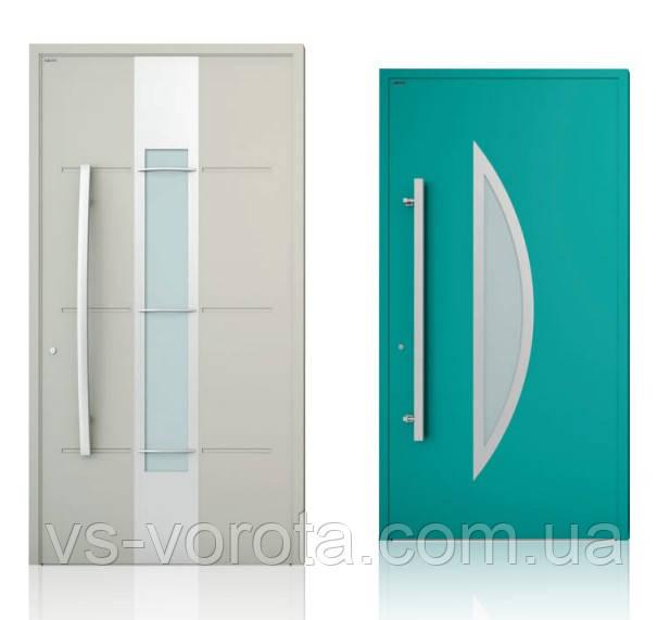 Двери алюминиевые входные WISNIOWSKI модель CREO 325 - размер 1200Х2300 мм