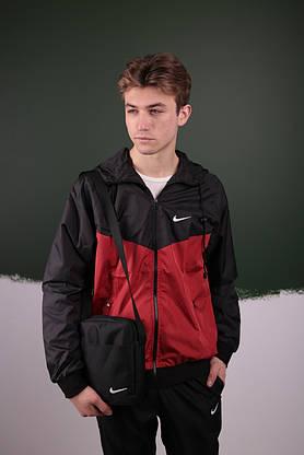 Спортивный костюм Найк / Nike: Ветровка Найк (Nike) + Штаны + Барсетка в подарок, фото 3