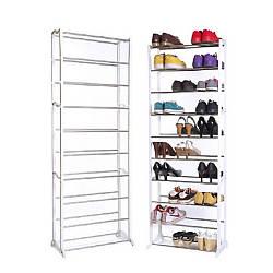 Полка для обуви | Стеллаж на 30 пар | Shoe Rack