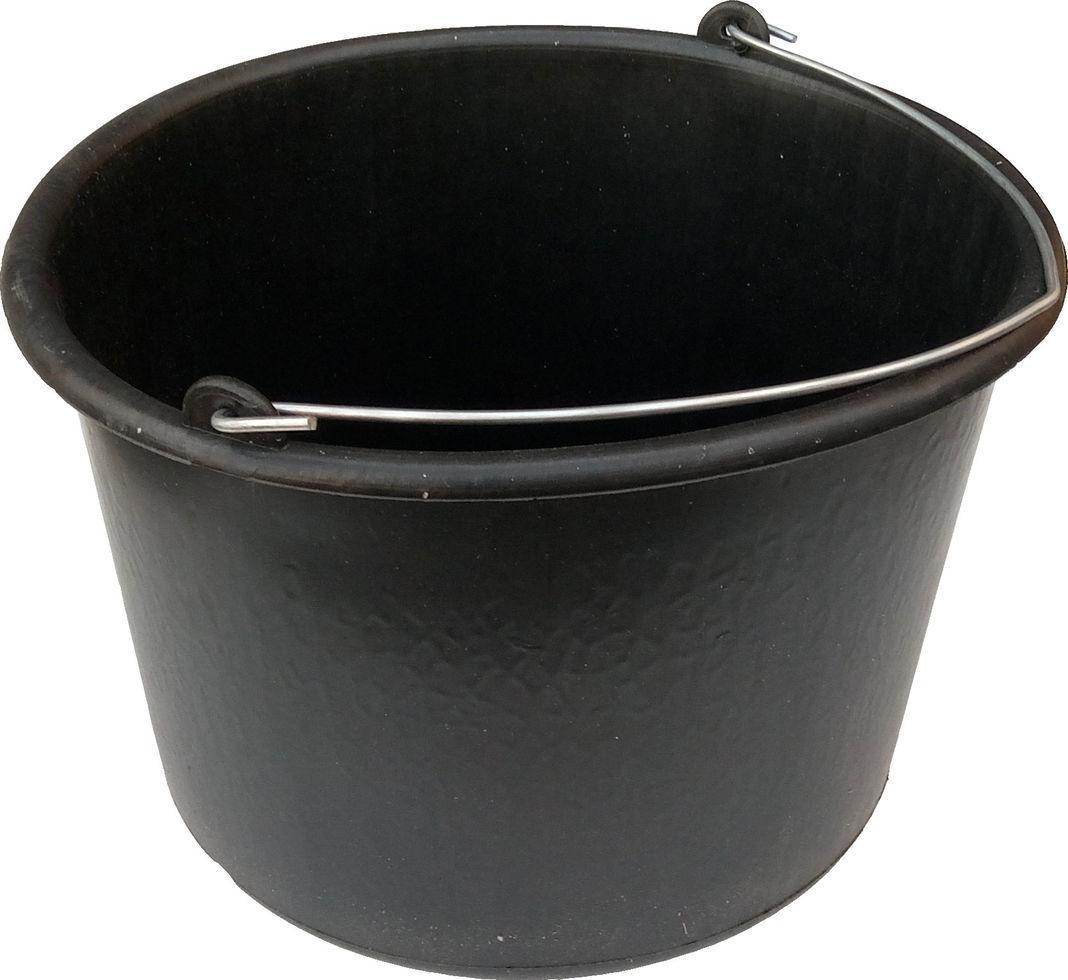 Ведро строительное 16 литров полиэтиленовое мягкое (АВС)