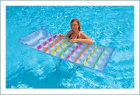 Матрас пляжный цветной прозрачный 180х75 см (Intex 58814)