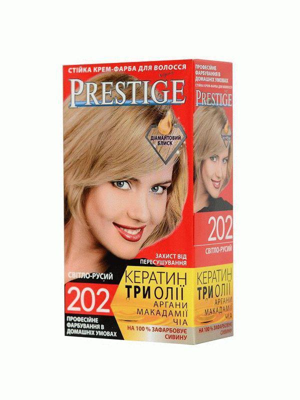 Стойкая крем краска Prestige №202 Светло русый