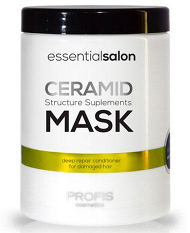 Маска для пошкодженого волосся Profis Mask Ceramid, 1 л, Профис