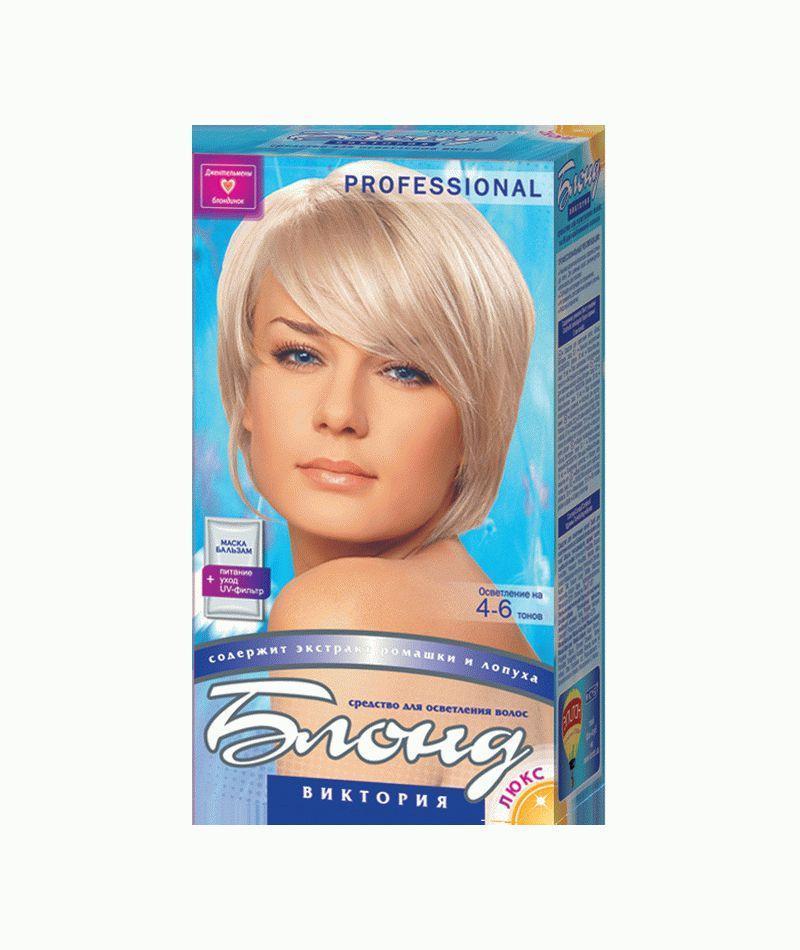 Засіб для освітлення волосся Блонд Вікторія 100 мл, Комбі