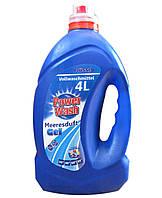 Power Wash гель для стирки универсальный Vollwaschmittel, 4 л, Павер Вош, Zalchem