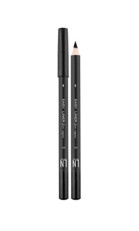 Карандаш для глаз № 101 LN Professional Easy Liner For Eyes, 1.7 г