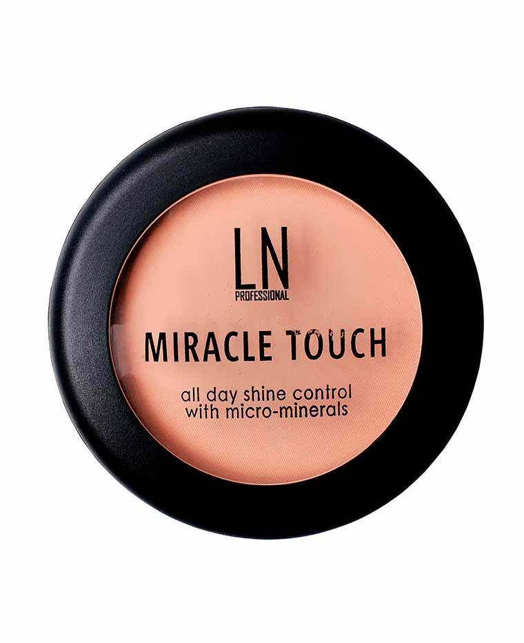 Компактная пудра-основа для лица LN Professional Miracle Touch, 12 г, ЛН Профешнл