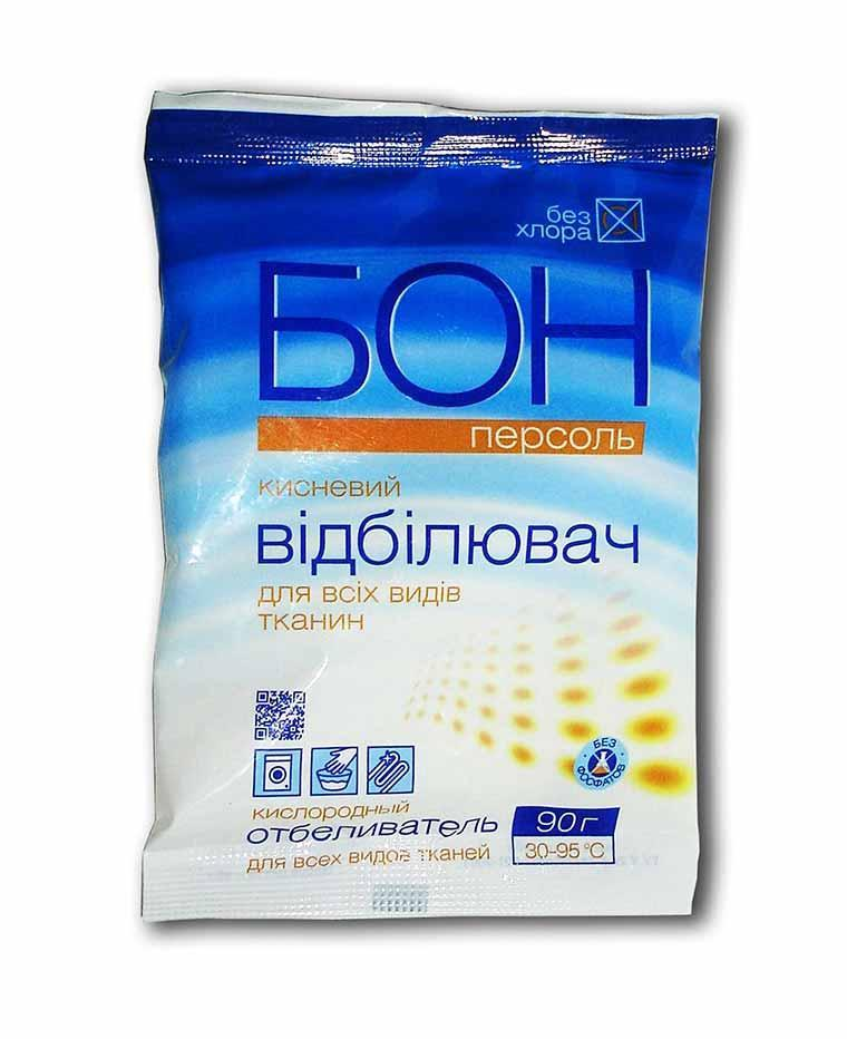 Отбеливатель для всех видов тканей, Бон персоль, Эленси, 90 г
